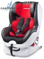 Caretero Defender Plus Isofix 2017 red + KAPSÁŘ ZDARMA