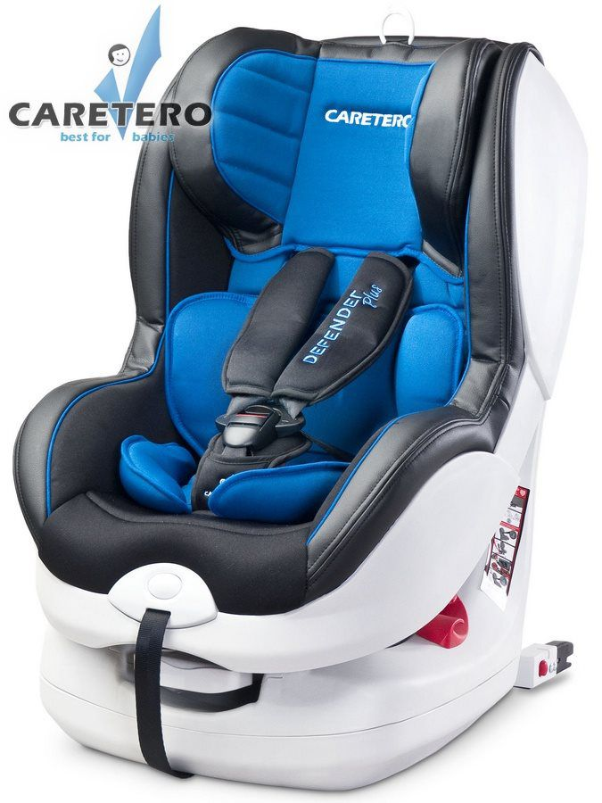 Caretero Defender Plus Isofix 2018 blue
